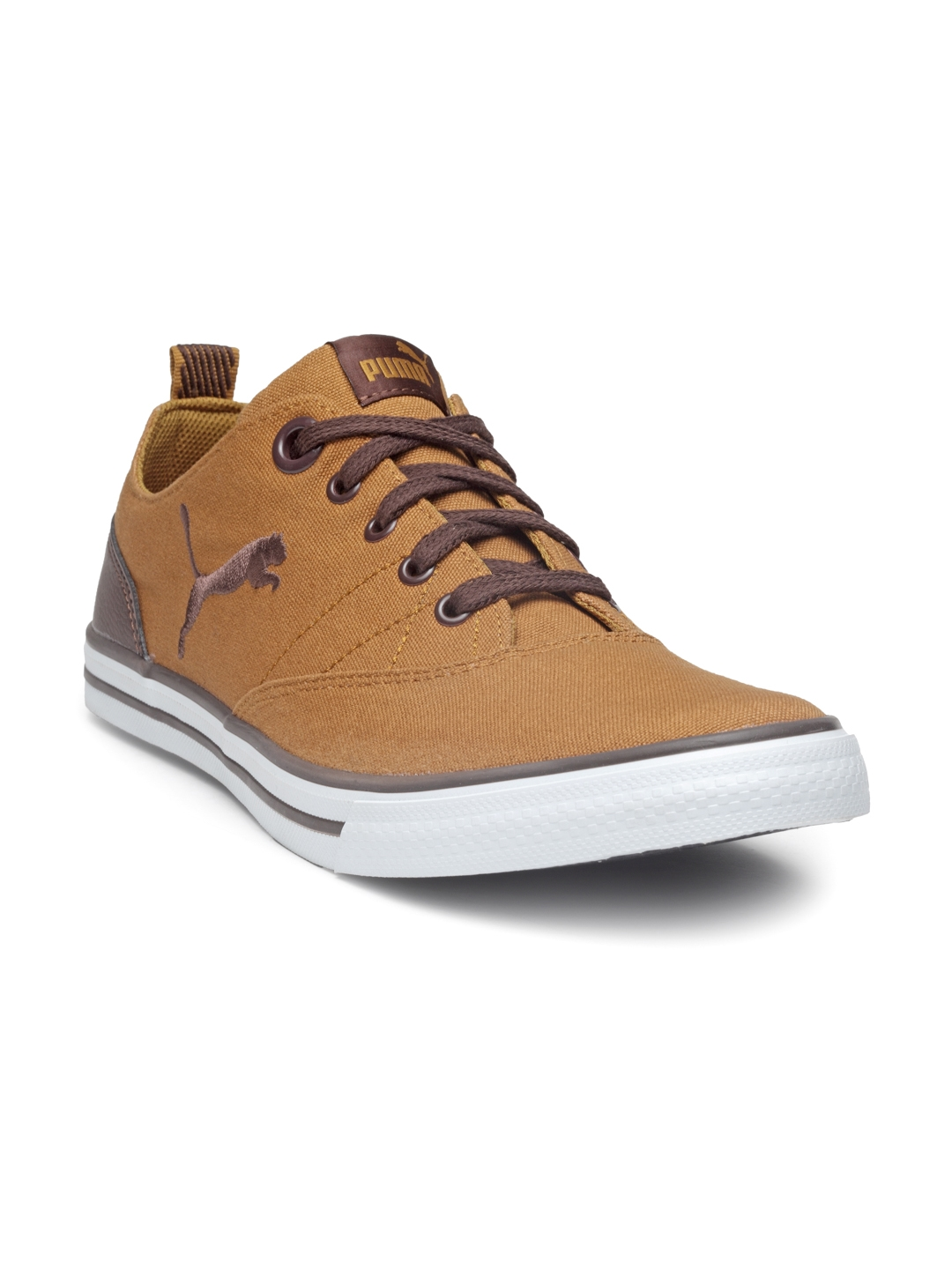 Buy Puma Men Camel Brown Slyde NU IDP Sneakers - Casual Shoes for ... 6273a3a286d3