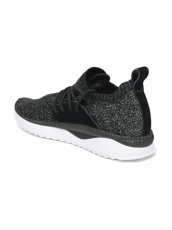 Buy Puma Men Black Textured TSUGI Apex EvoKNIT Sneakers - Casual ... 3523001bd