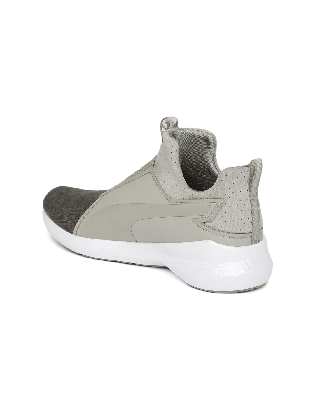 09fc9e91db1 Buy Puma Women Grey Rebel Mid EP Q2 Slip On Sneakers - Casual Shoes ...