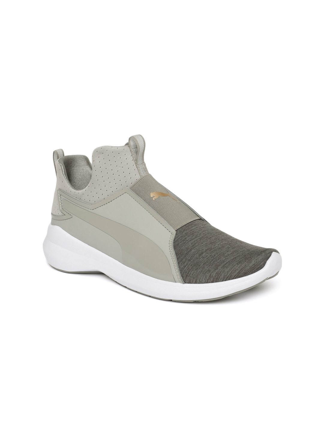 fee87f405d74 Buy Puma Women Grey Rebel Mid EP Q2 Slip On Sneakers - Casual Shoes ...