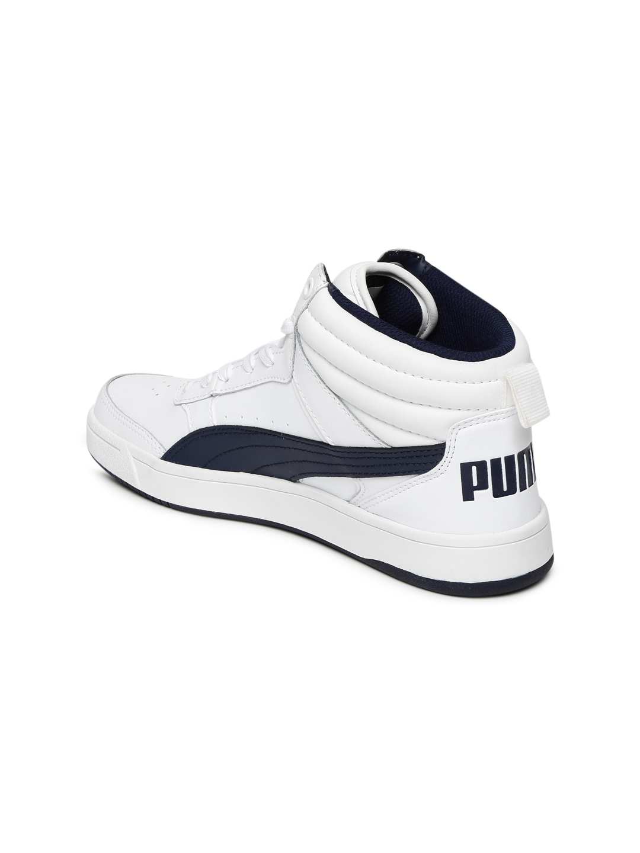 d478b04e6e86 Buy Puma Kids White Rebound Street V2 L Junior IDP Sneakers - Casual ...