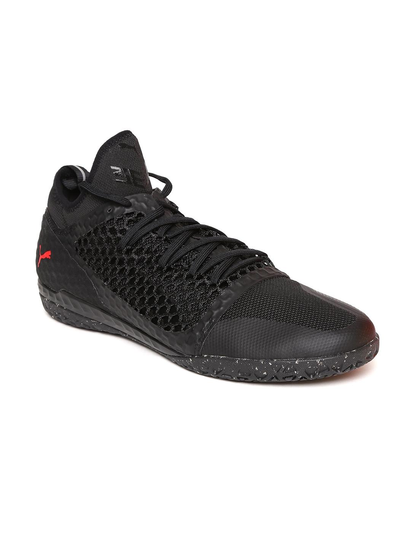 brand new 5d5d9 337d9 Puma Men Black 365 IGNITE NETFIT CT Football Shoes