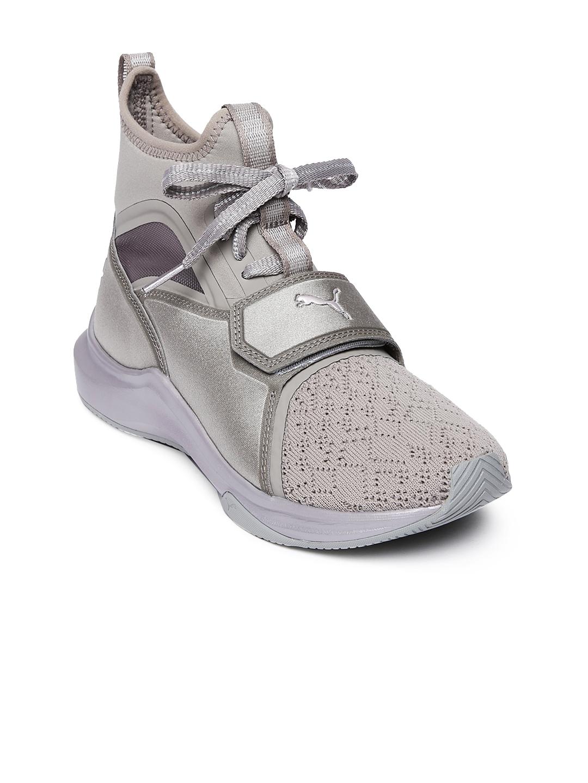 e997b99bdb6 Buy Puma Women Gunmetal Toned Phenom EP Training Shoes - Sports ...