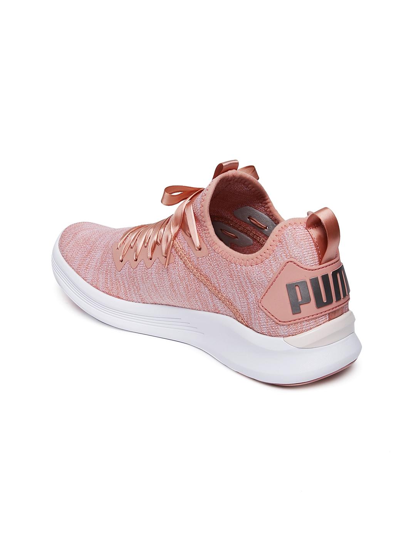 3459681a870 Buy Puma Women Peach Coloured IGNITE Flash EvoKNIT Satin EP Training ...