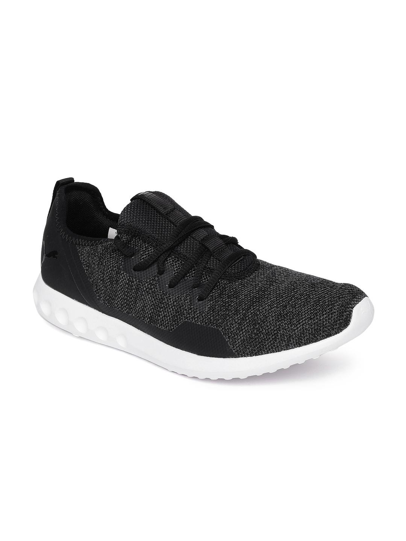 Buy Puma Men Black Carson 2 X Knit IDP Running Shoes - Sports Shoes for Men  2454931  e90bd4013