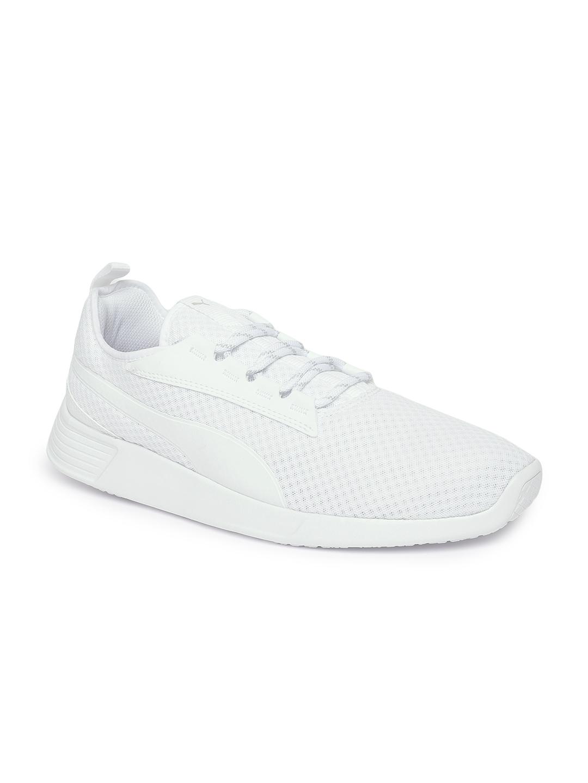 5f935514 Puma Men White ST Trainer Evo v2 Running Shoes
