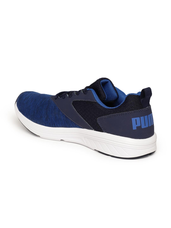 size 40 79f76 12461 Puma Men Blue Comet IPD Running Shoes