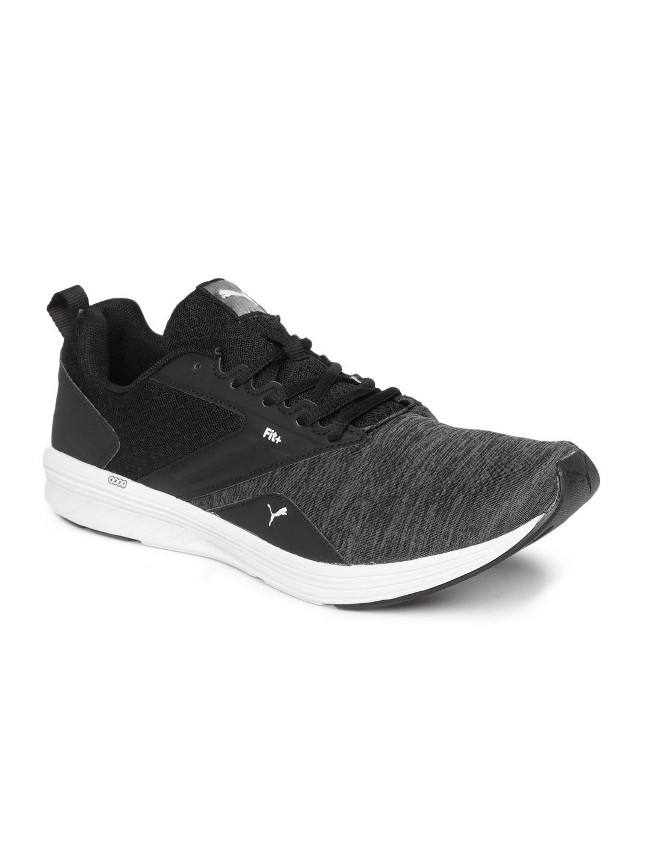868a52d1edb Buy Puma Men Black Comet IDP Running Shoes - Sports Shoes for Men ...