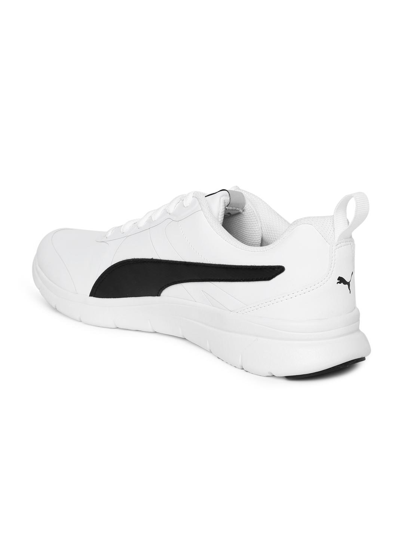 efa75f343fa1ef Buy Puma Men White Flex Essential SL Running Shoes - Sports Shoes ...