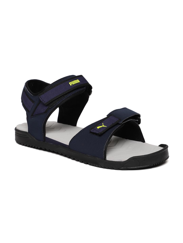 d75f80e7c0bce5 Buy Puma Men Navy Shine IDP Sports Sandals - Sports Sandals for Men ...