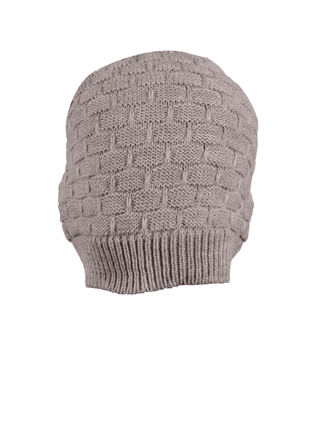 152bec53190b5 Buy FabSeasons Unisex Grey Solid Beanie - Caps for Unisex 2456184 ...
