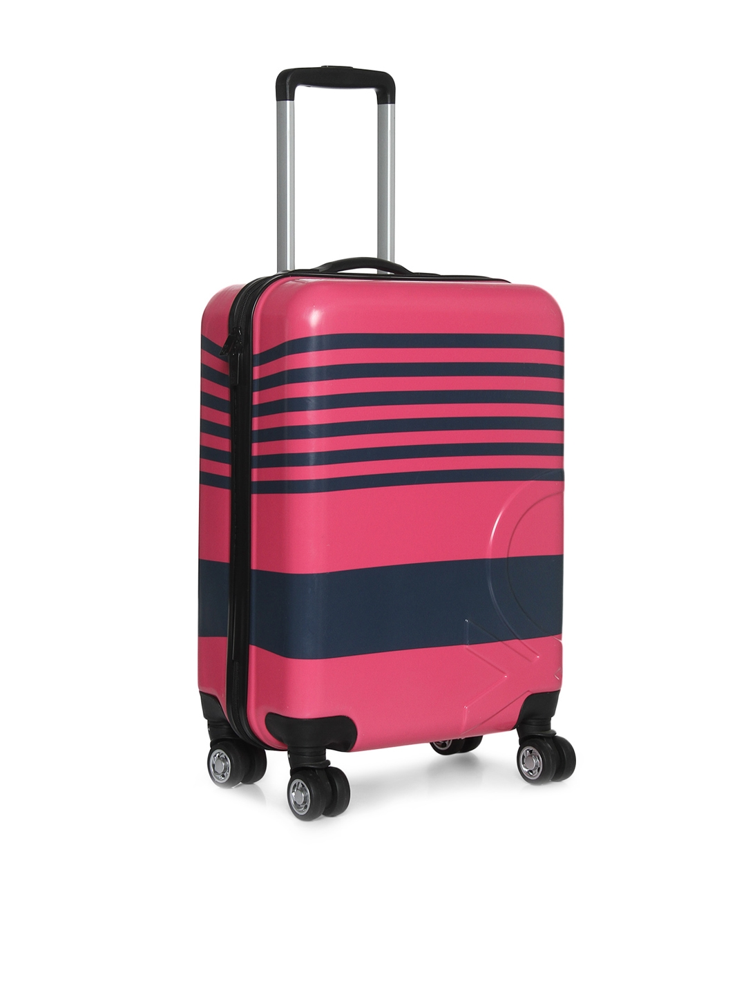 b8cfbfba9c United Colors of Benetton Unisex Pink   Blue Cabin Trolley Suitcase