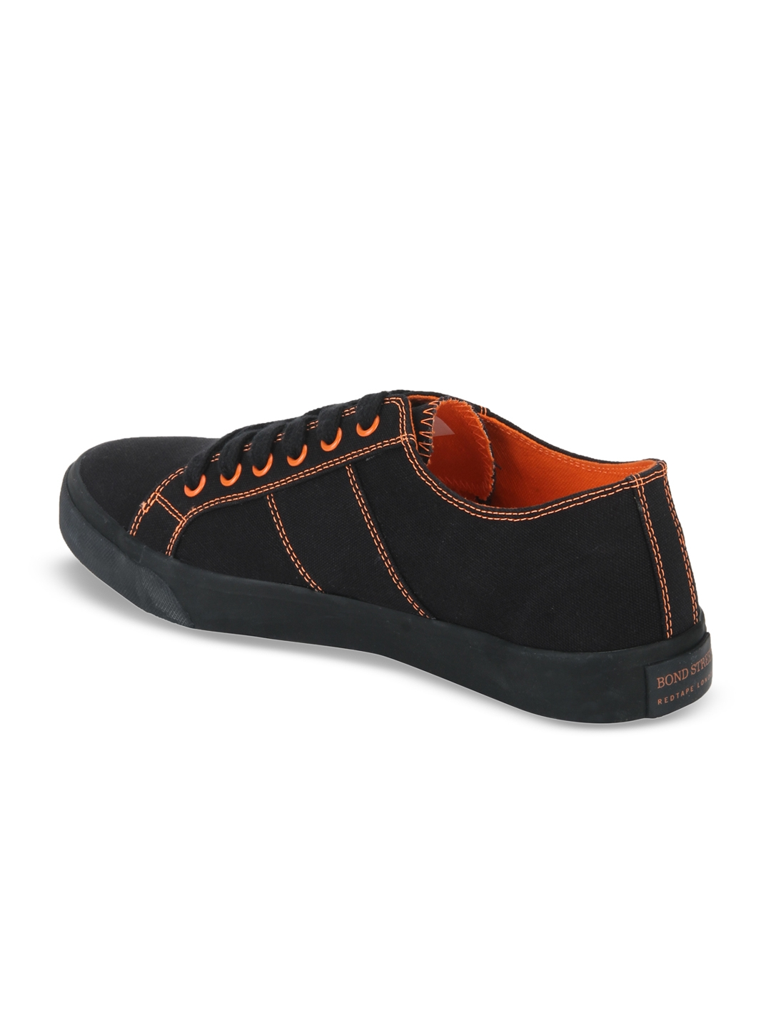 b3a01075826f98 Buy Bond Street By Red Tape Men Black Sneakers - Casual Shoes for ...
