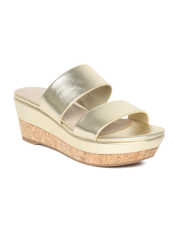 b40744060cb Buy ALDO Women Gold Toned Solid Sandals - Heels for Women 2470353 ...