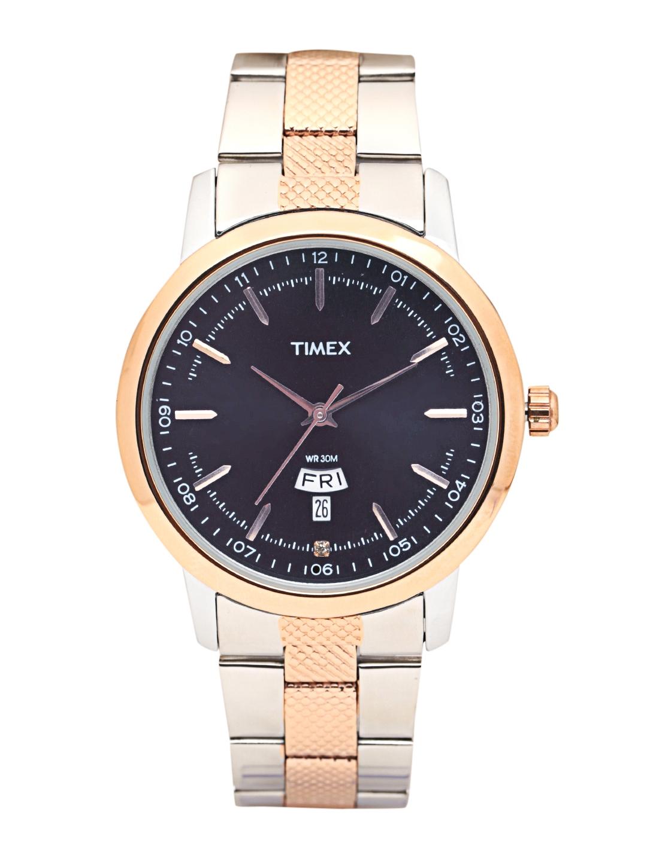 Timex Men Navy Blue Analogue Watch TW000G913