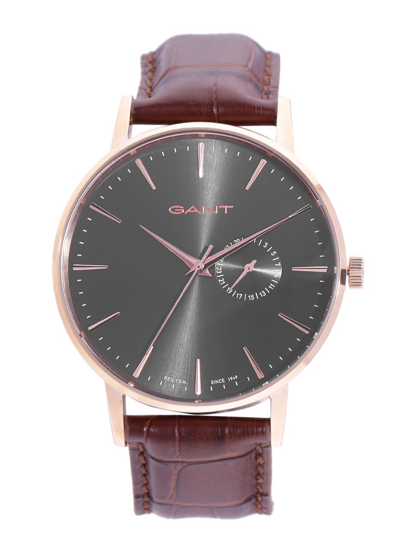 ab9ec6f21d5d Buy GANT Men Charcoal Grey Analogue Watch W108411 - Watches for Men ...