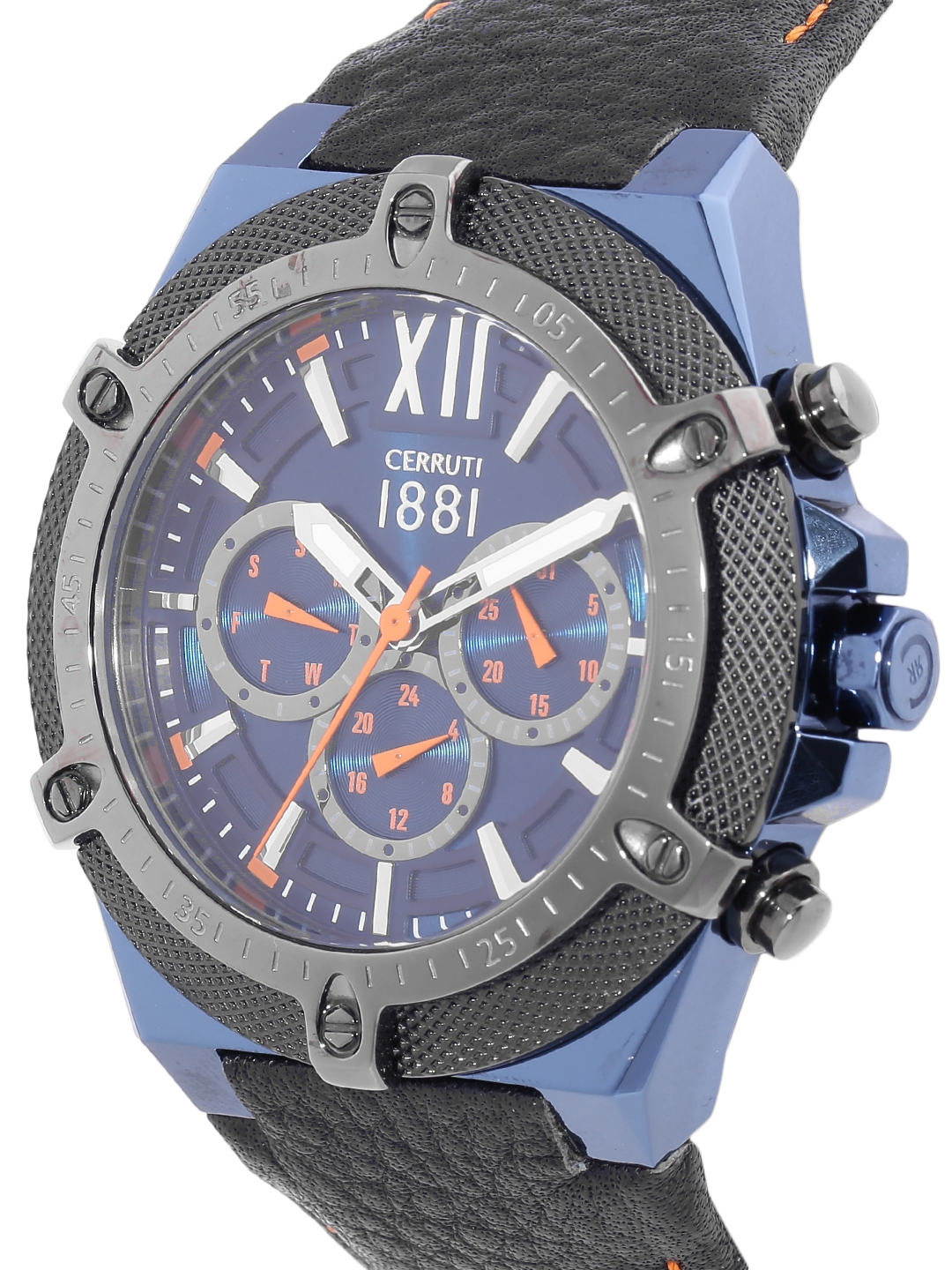 037886f111 Buy Cerruti 1881 Men Blue Analogue Watch CRA036SBLU03BK - Watches ...