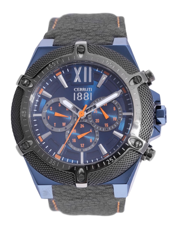 b83ae3ca2e2 Buy Cerruti 1881 Men Blue Analogue Watch CRA036SBLU03BK - Watches ...