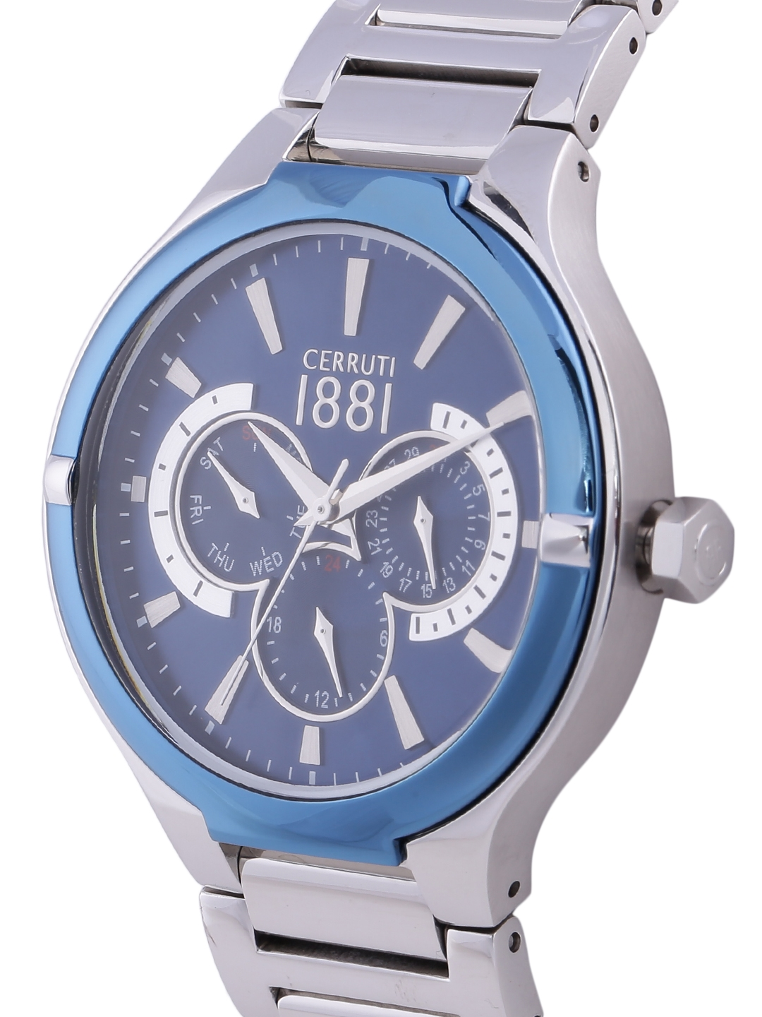37dfd995ad Buy Cerruti 1881 Men Blue Analogue Watch CRA105STBL03MS - Watches ...