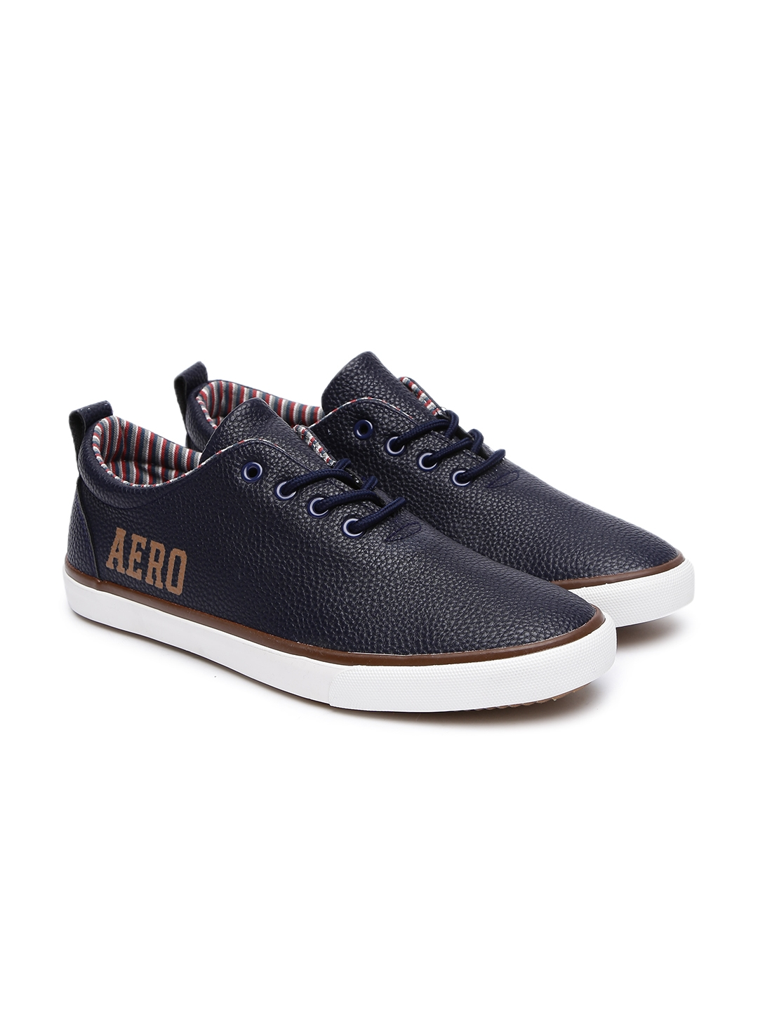 Buy Aeropostale Men Navy Blue Russell Sneakers - Casual Shoes for ... f976c288a