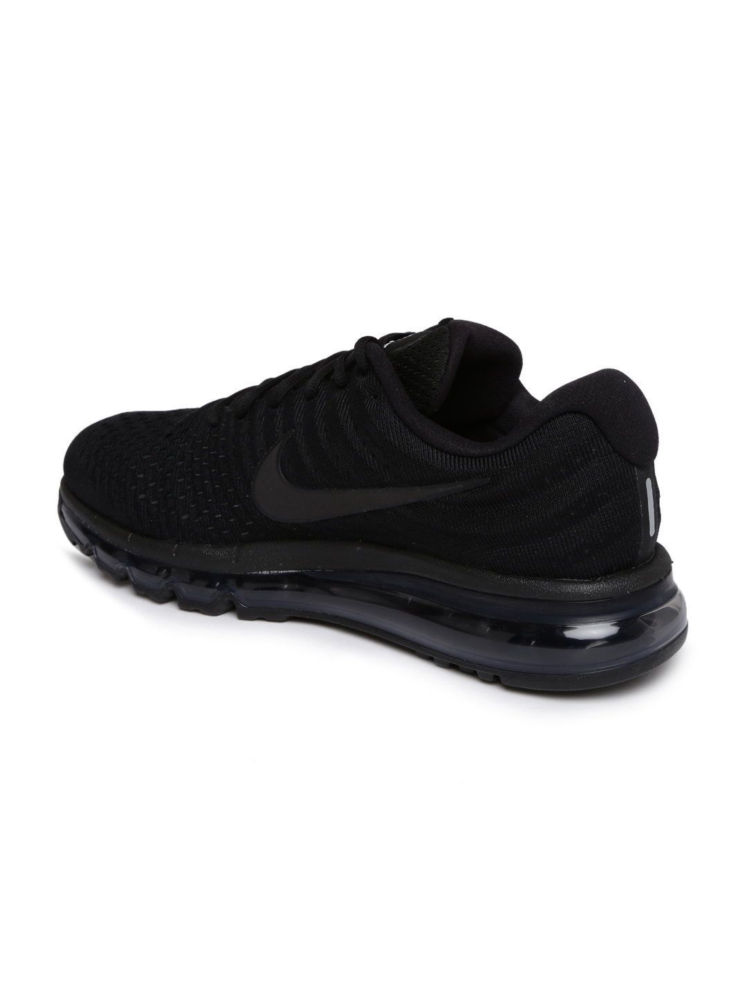 differently 97e5d 281e6 Nike Men Black Air Max 2017 Running Shoes