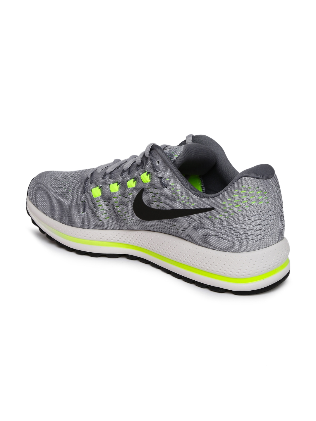 7fe5382d8e6b Buy Nike Men Grey Air Zoom Vomero 12 Running Shoes - Sports Shoes ...