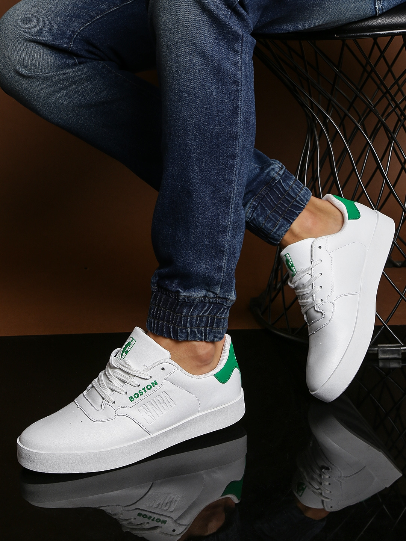 8795d0389e7 Buy NBA Boston Celtics Men White   Green Sneakers - Casual Shoes for ...