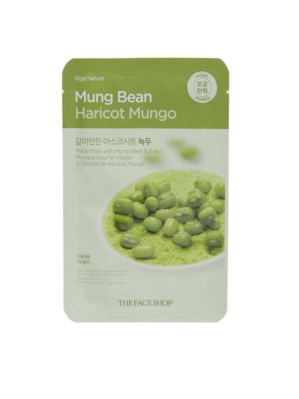 Buy The Face Shop Real Nature Mung Bean Mask And Peel Sheet Kelp Image
