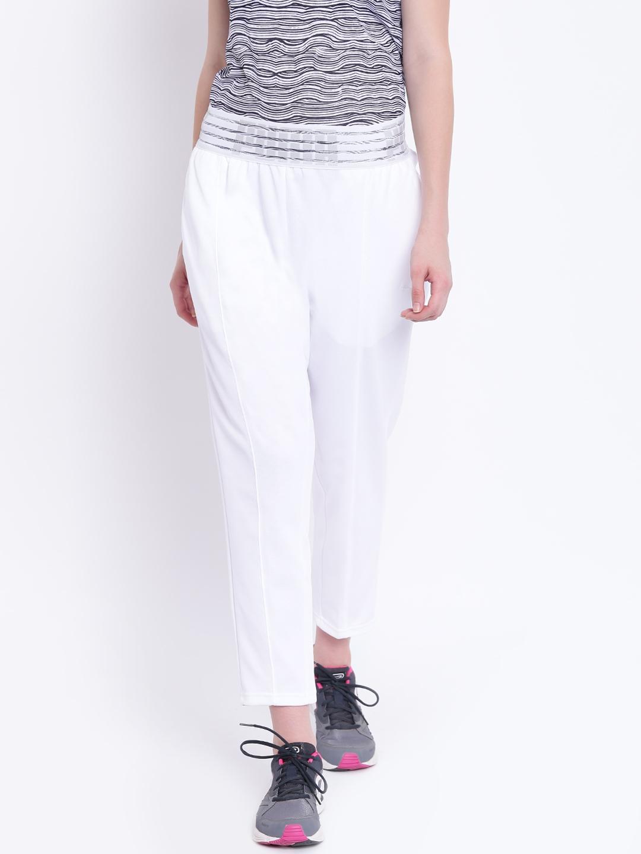 29b85d53d Buy Puma Women White Fusion Track Pants - Track Pants for Women ...