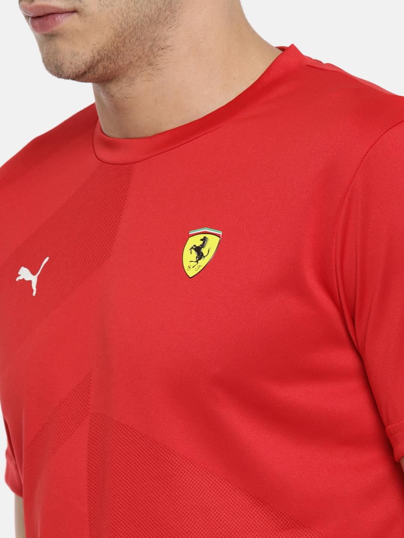 b0a2e1235715a2 Buy Puma Red Scuderia Ferrari EVO T Shirt - Tshirts for Men 2486782 ...