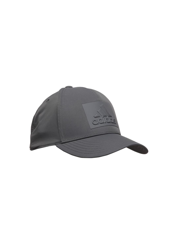 149b6917f3a Buy ADIDAS Unisex Grey S16 ZNE Logo Solid Snapback Cap - Caps for ...