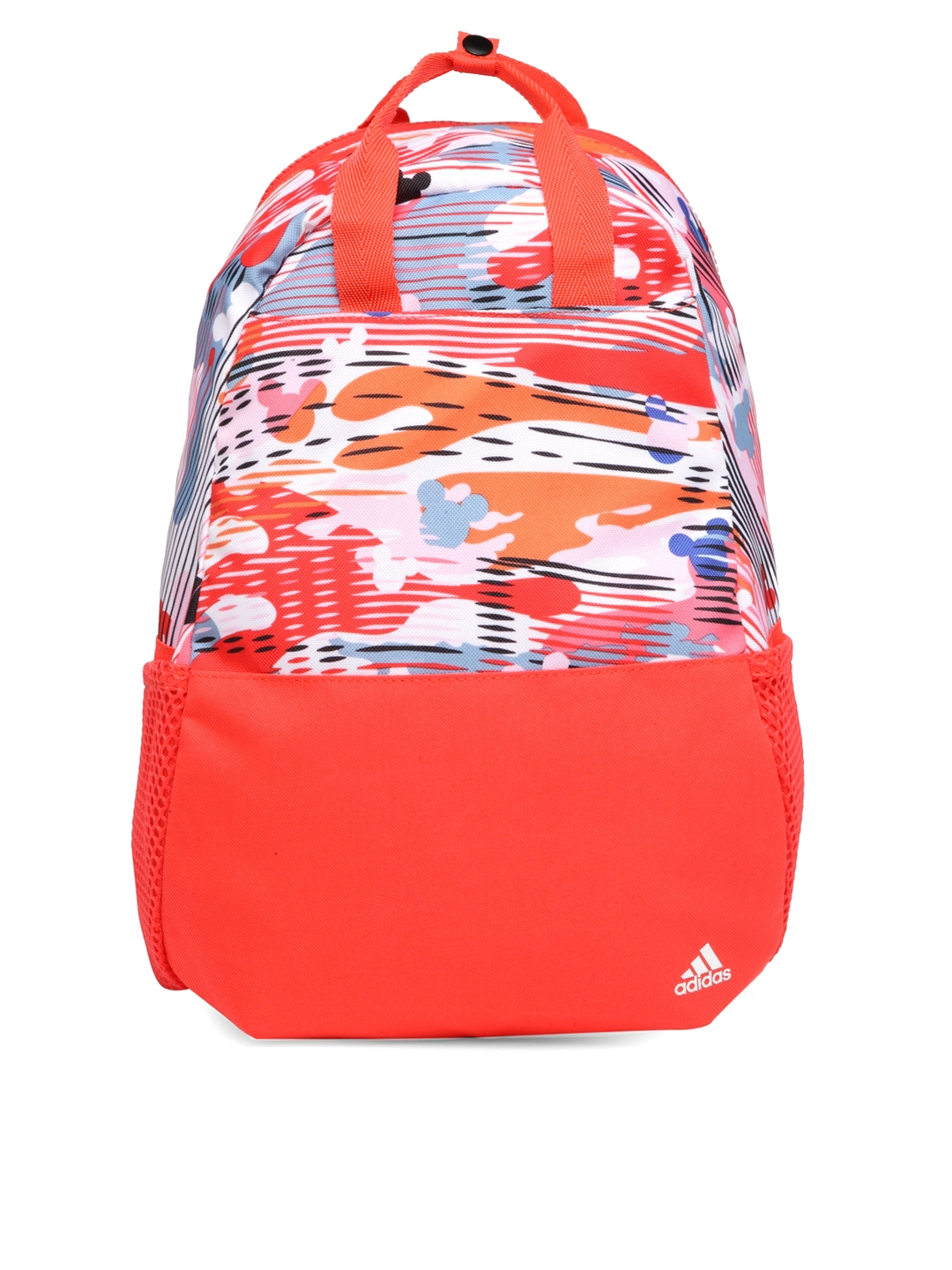 d40a7c0ac7 Buy ADIDAS Unisex Orange & White DY LK BP MSE Printed Backpack ...