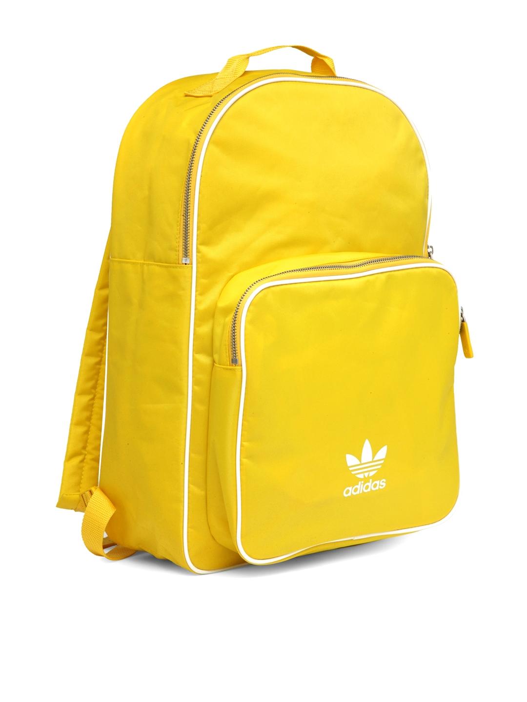 Buy ADIDAS Originals Unisex Yellow BP CL ADICOLOR Backpack ...
