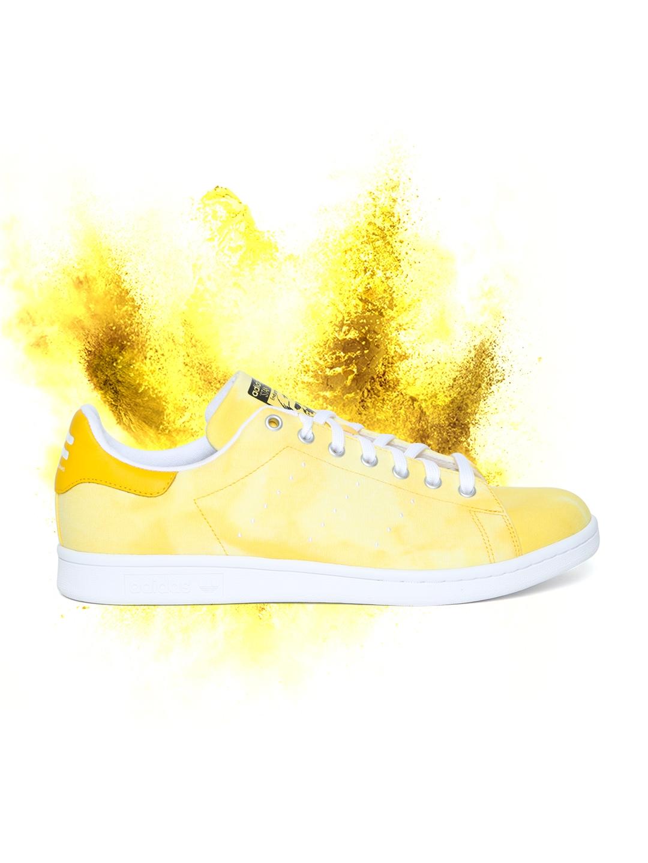 finest selection 07f6f 46b29 ADIDAS Originals Men Yellow HU Holi Stan Smith Sneakers