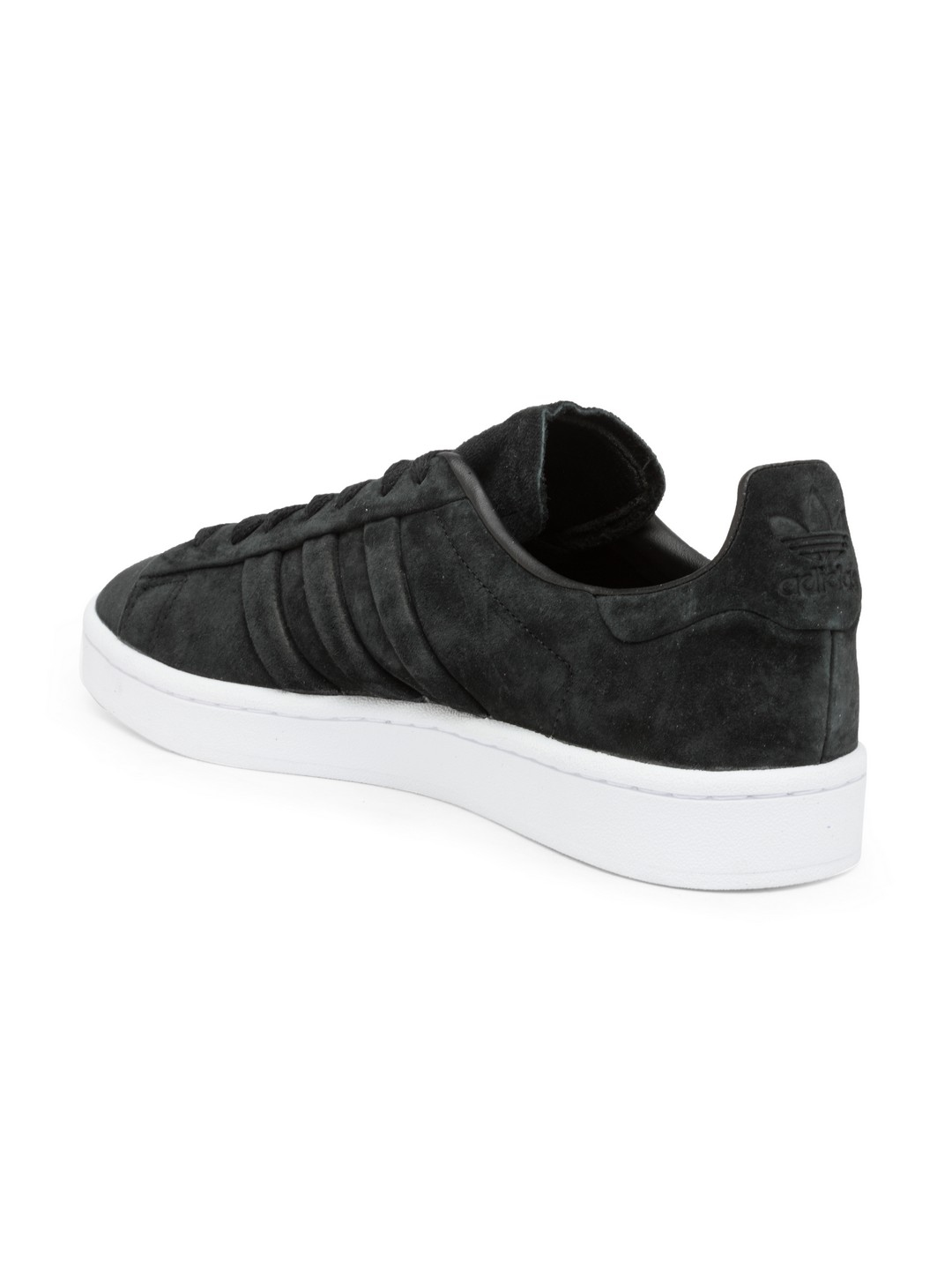 online store 1d4f0 560bc ADIDAS Originals Men Black Campus Stitch   Turn Suede Sneakers