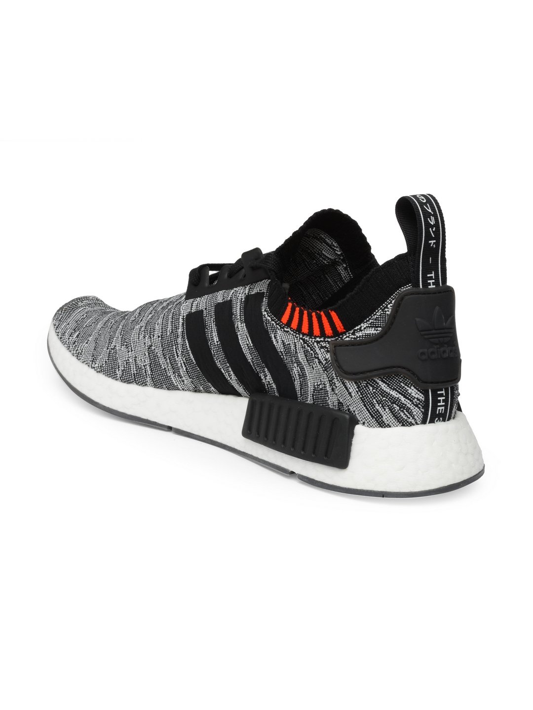f8e9eeea75f7 Buy ADIDAS Originals Men Black   White NMD R1 PK Patterned Sneakers ...
