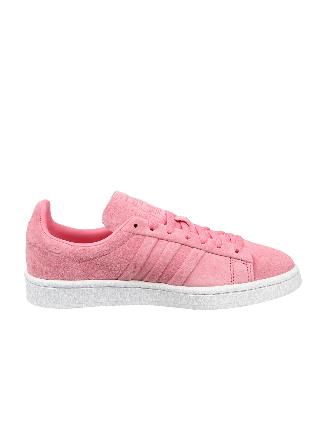 cheap for discount d3bc2 3c277 Adidas Originals Women Pink Campus Stitch And Turn Sneakers