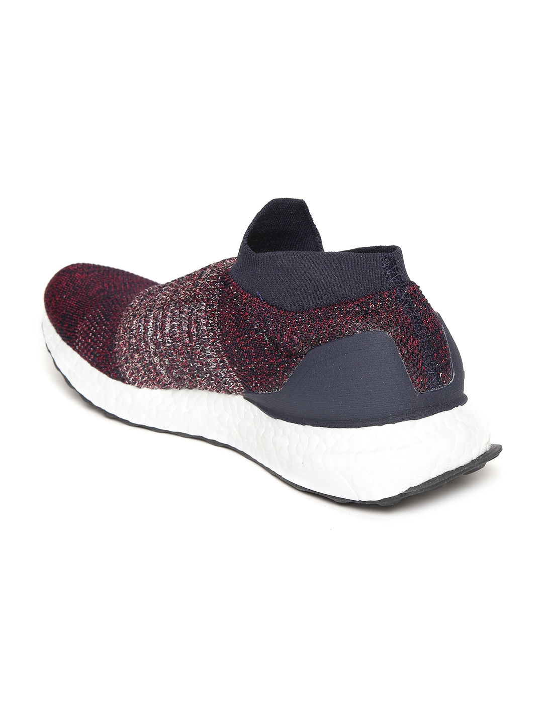4476e2cb8 Buy ADIDAS Women Burgundy   Navy Ultraboost Laceless Running Shoes ...
