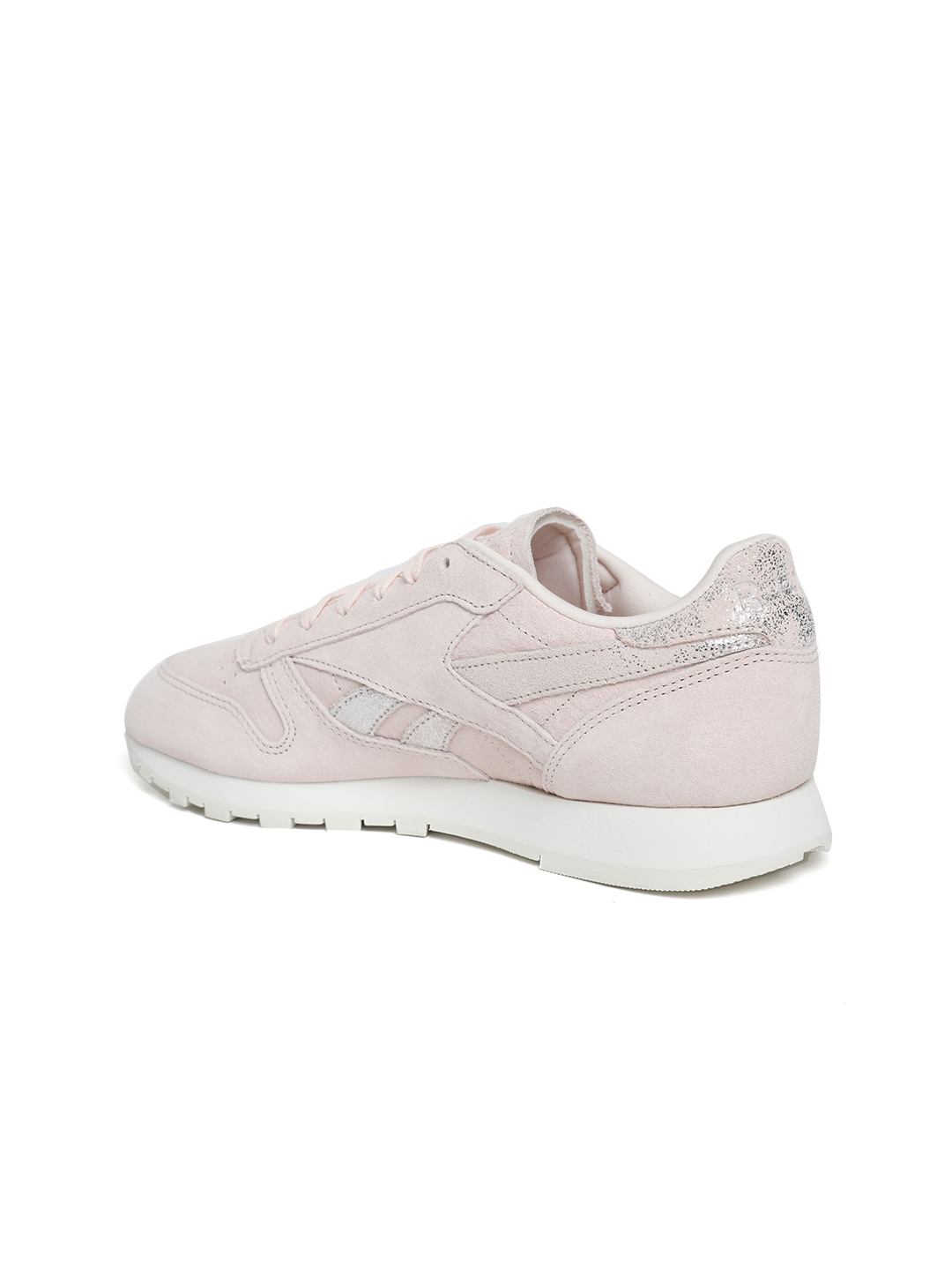 6322cb249c0 Buy Reebok Classic Women Pink CL Shimmer Leather Sneakers - Casual ...