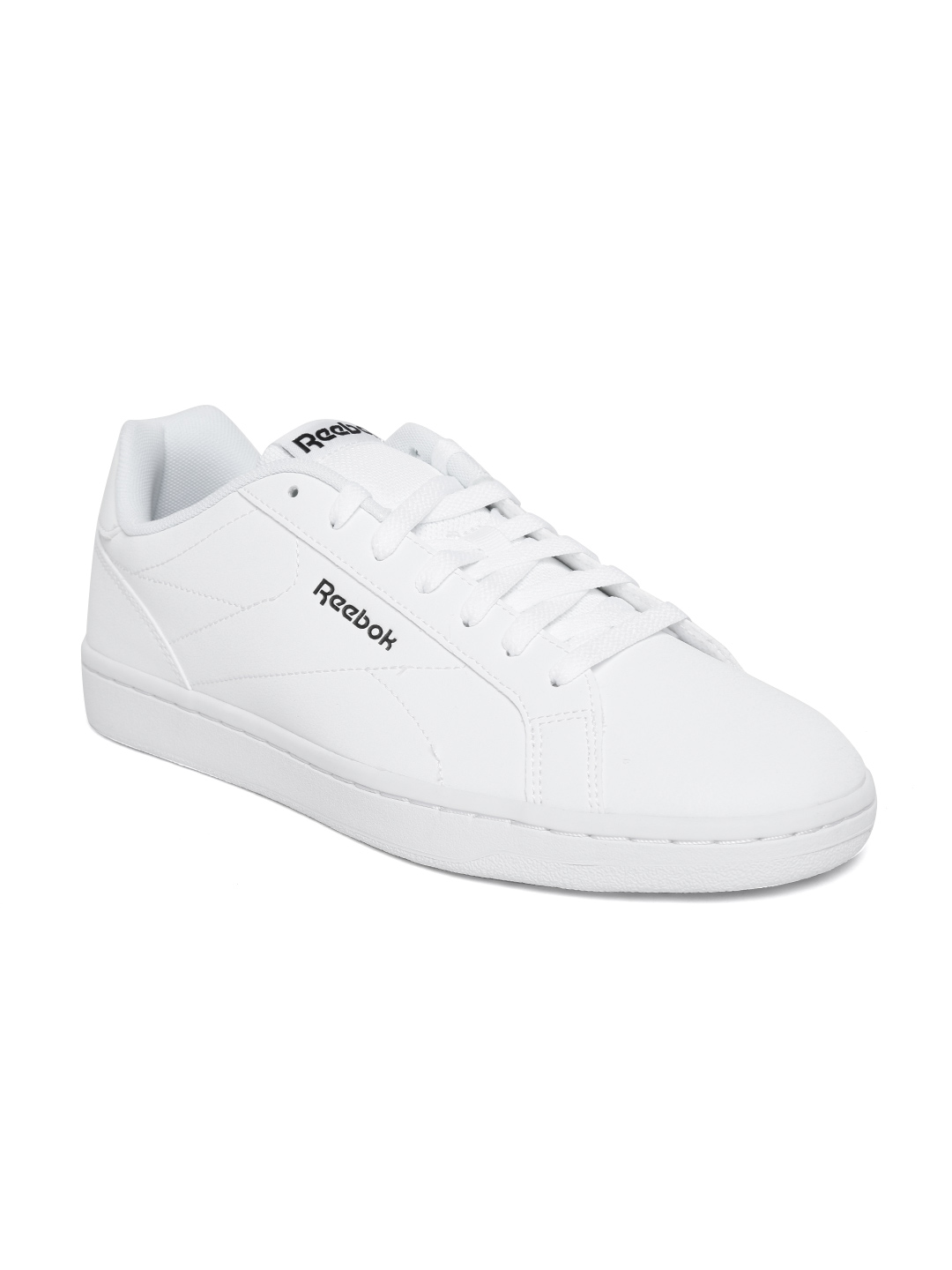 f55e8bfd8ea Buy Reebok Classic Men White Royal Complete CLN Sneakers - Casual ...