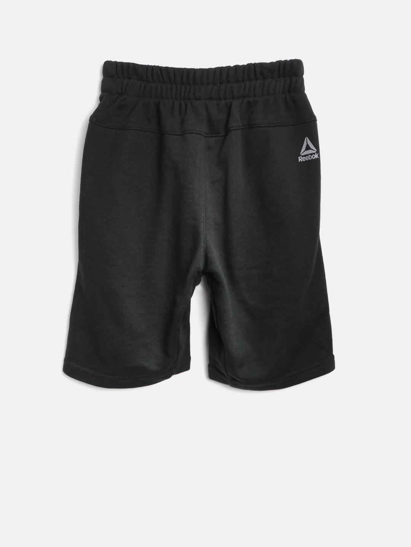 04955da3b70f Buy Reebok Boys Black B ES FT Sports Shorts - Shorts for Boys ...