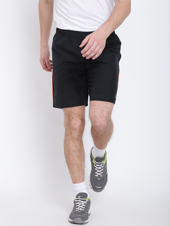 425ebad168f Buy Reebok Men Black Core Solid Regular Fit Training Shorts - Shorts ...