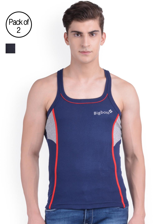 Dollar Bi gboss Men Pack 2 Gym Vests