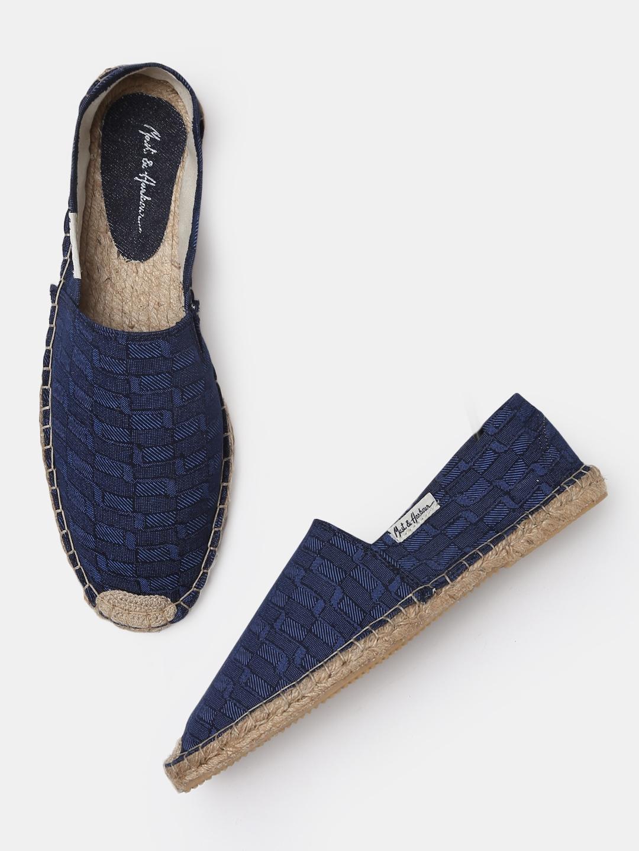 ac3c6351b Buy Mast & Harbour Men Navy Blue Espadrilles - Casual Shoes for Men ...