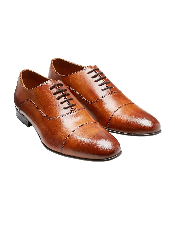 Buy Next Men Brown Formal Shoes