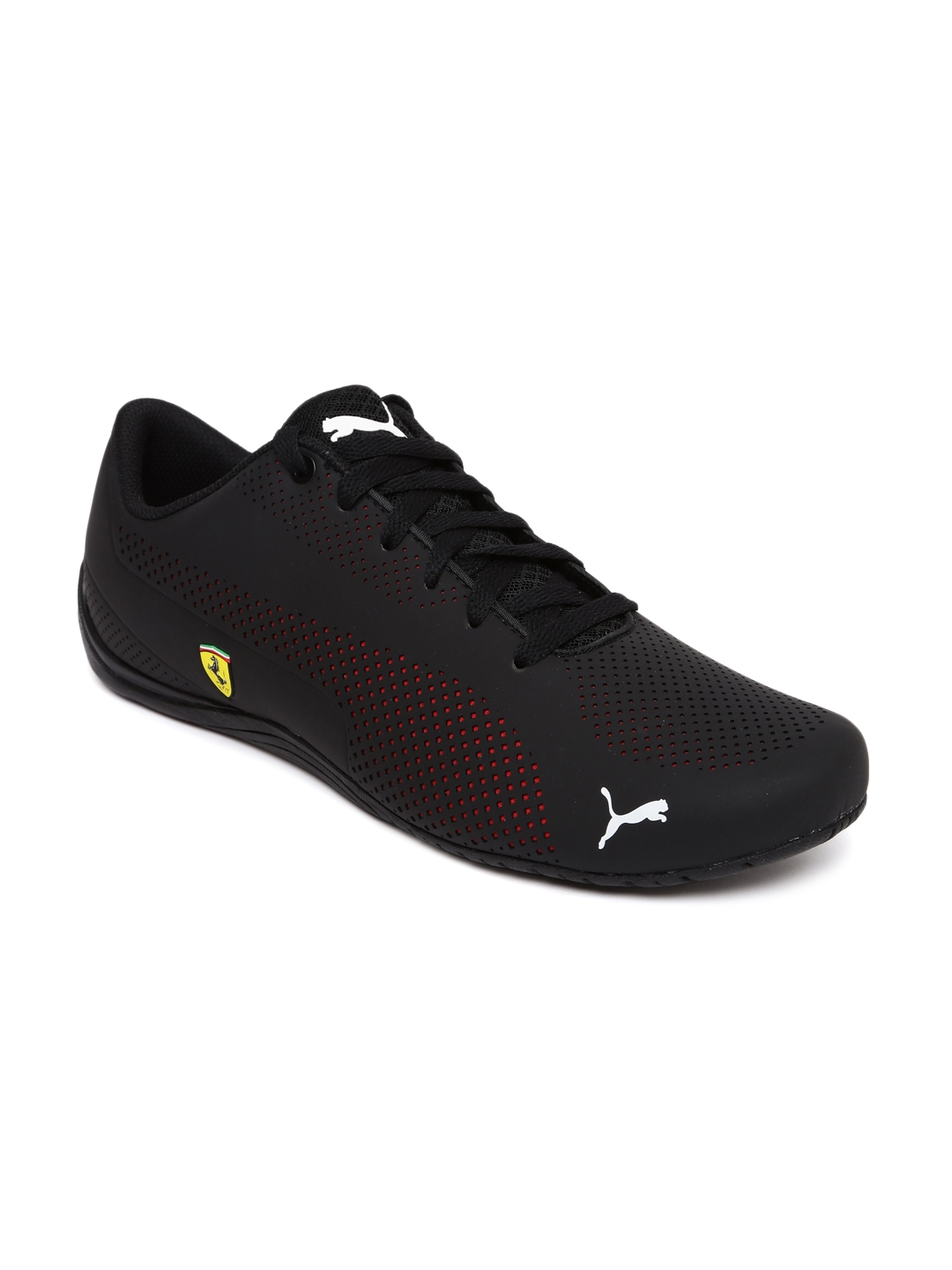 101853514f6 Buy Puma Men Black Scuderia Ferrari Drift Cat 5 Ultra Sneakers ...