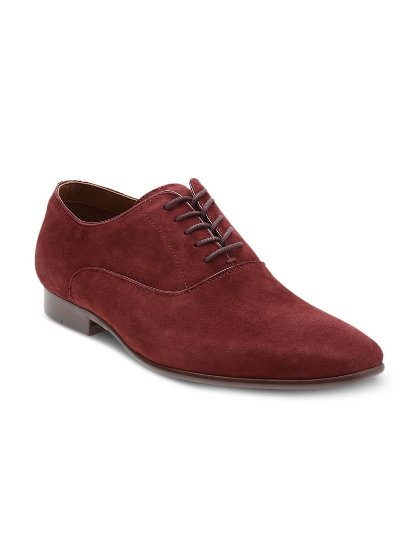 7677e3dc1da Buy ALDO Men Rust Red Suede Oxford Shoes - Formal Shoes for Men ...