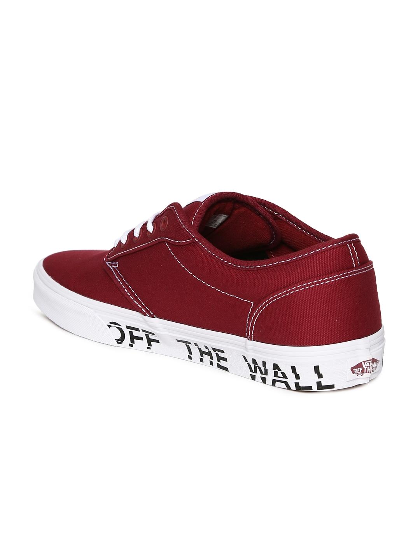c3cda549feb Buy Vans Men Red Atwood Sneakers - Casual Shoes for Men 2505625