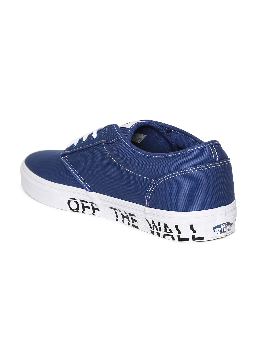 26fe3b27e63729 Buy Vans Men Blue Atwood Sneakers - Casual Shoes for Men 2505628 ...