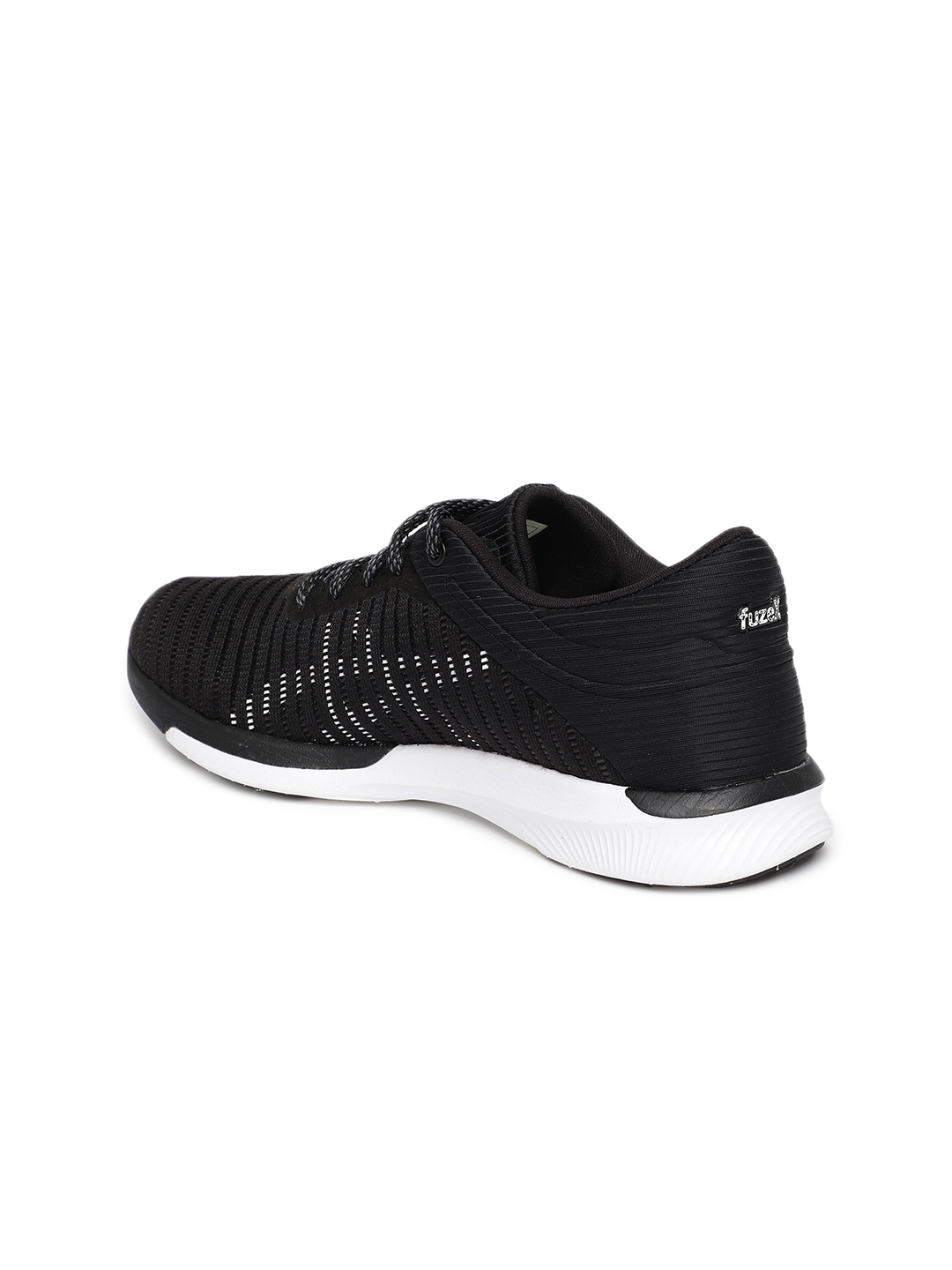 20835a639af9 Buy ASICS Women FuzeX Rush Adapt Black Running Shoes - Sports Shoes ...